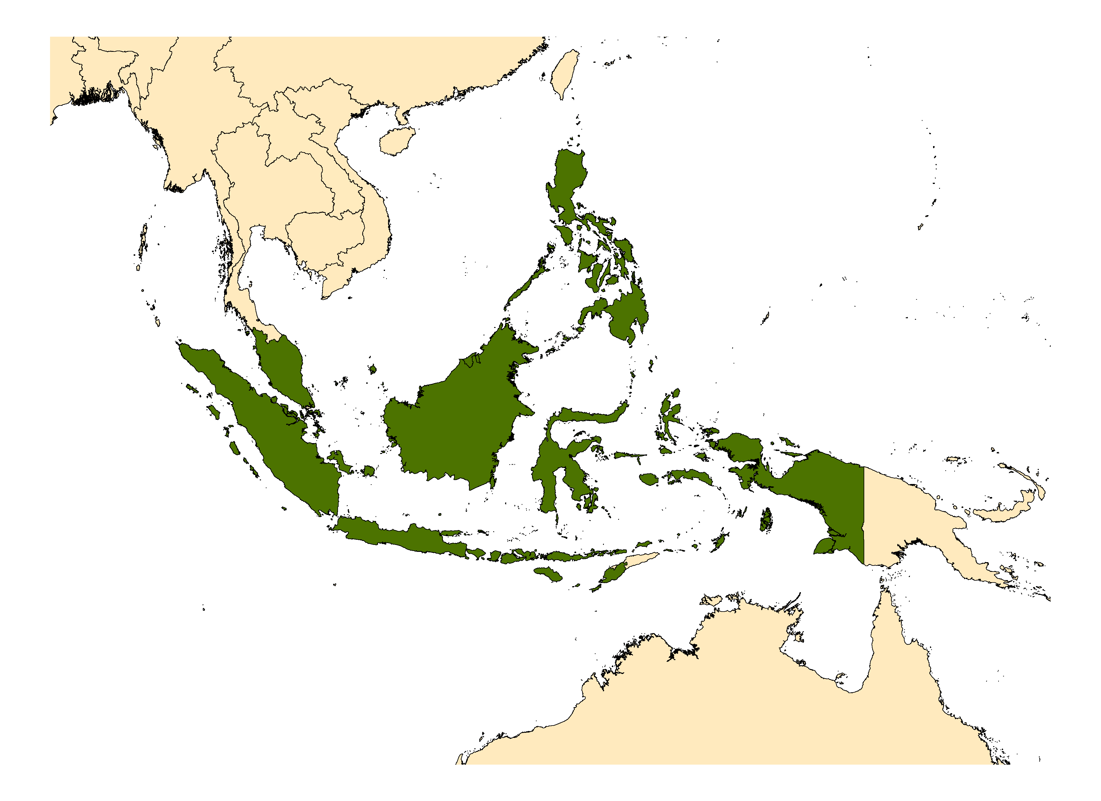 Distribution map for <em>Anopheles balabacensis</em> Baisas, 1936