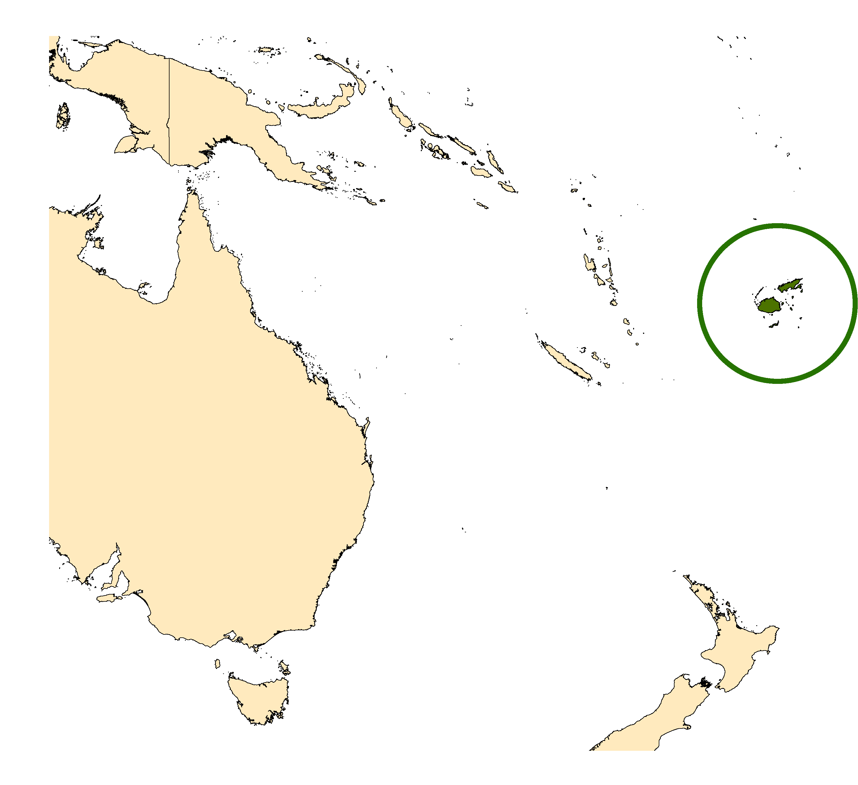 Distribution map for <em>Aedes fijiensis</em> Marks, 1947