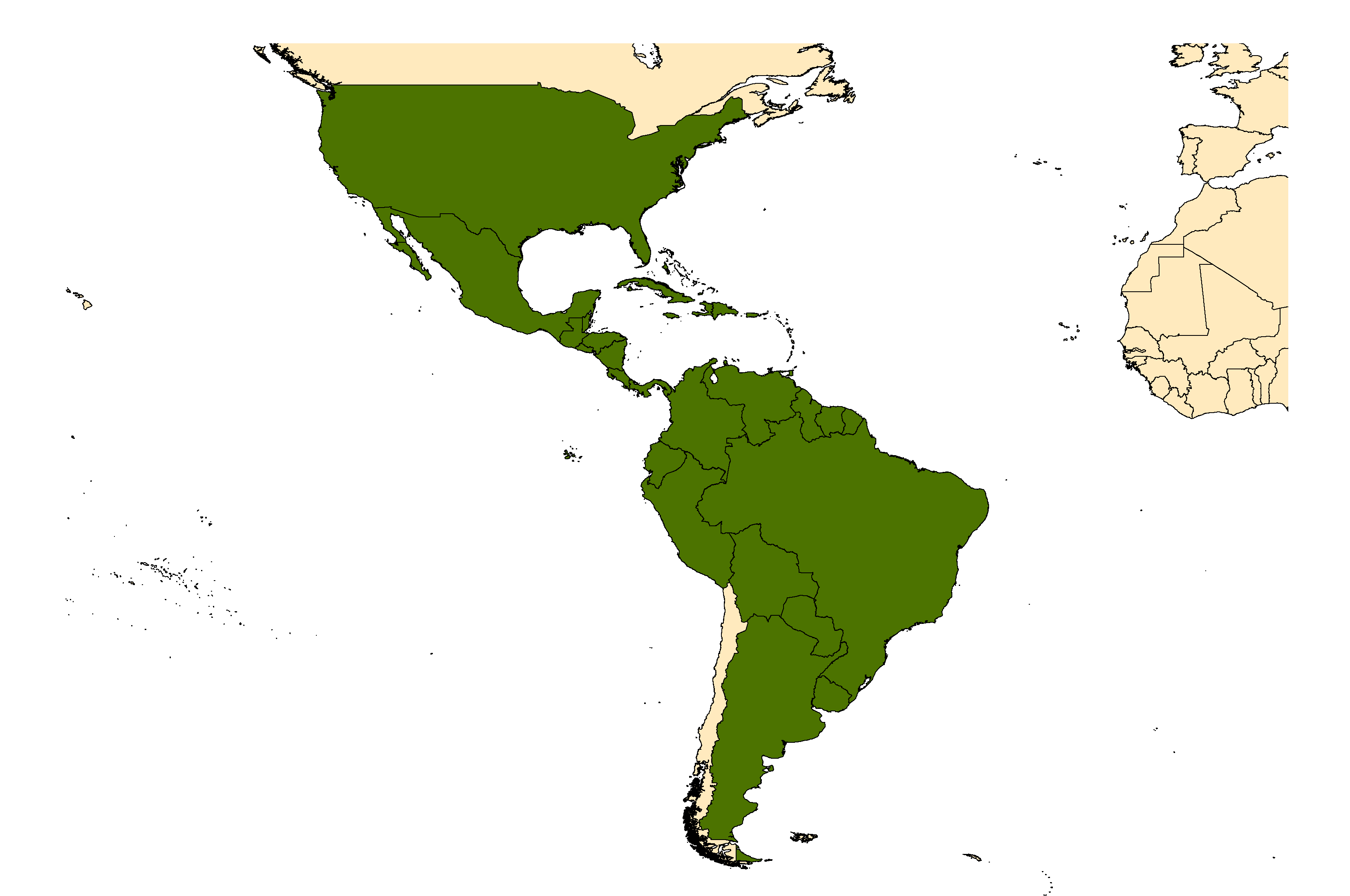 Distribution map for <em>Aedes scapularis</em> (Rondani, 1848)