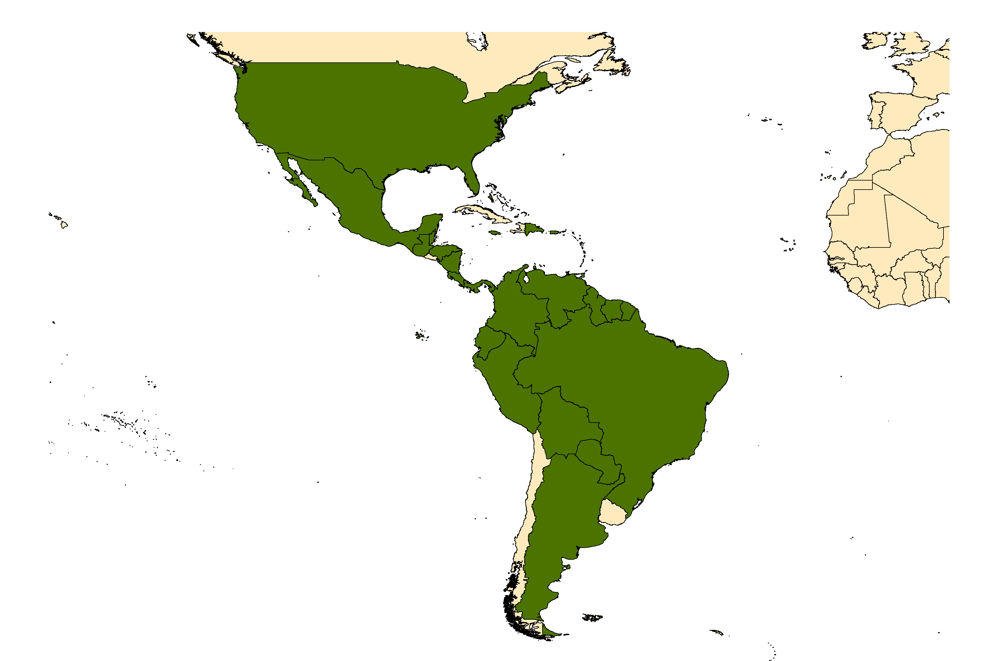 Distribution map for <em>Culex taeniopus</em> Dyar & Knab, 1907