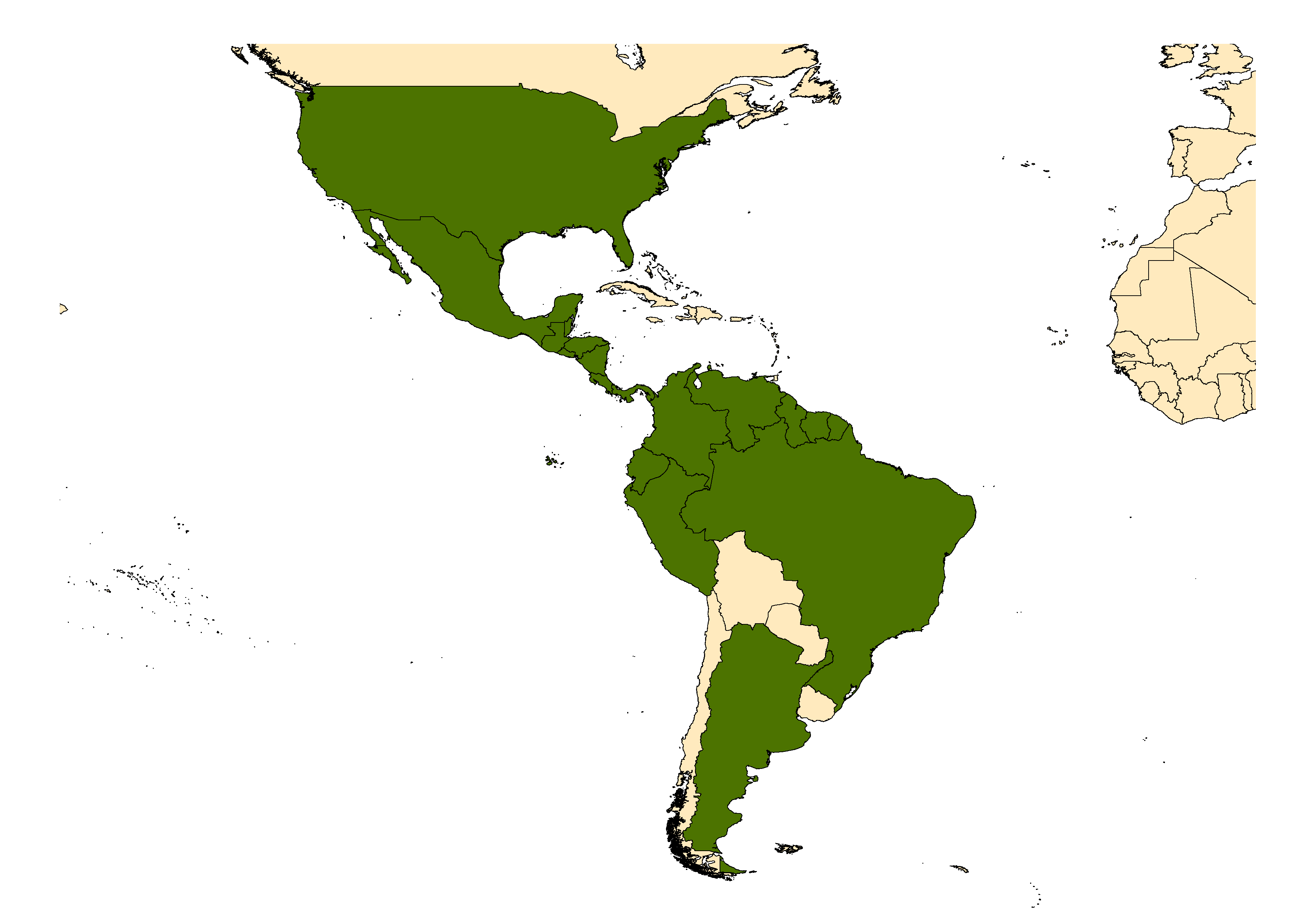 Distribution map for <em>Aedes taeniorhynchus</em> (Wiedemann, 1821)