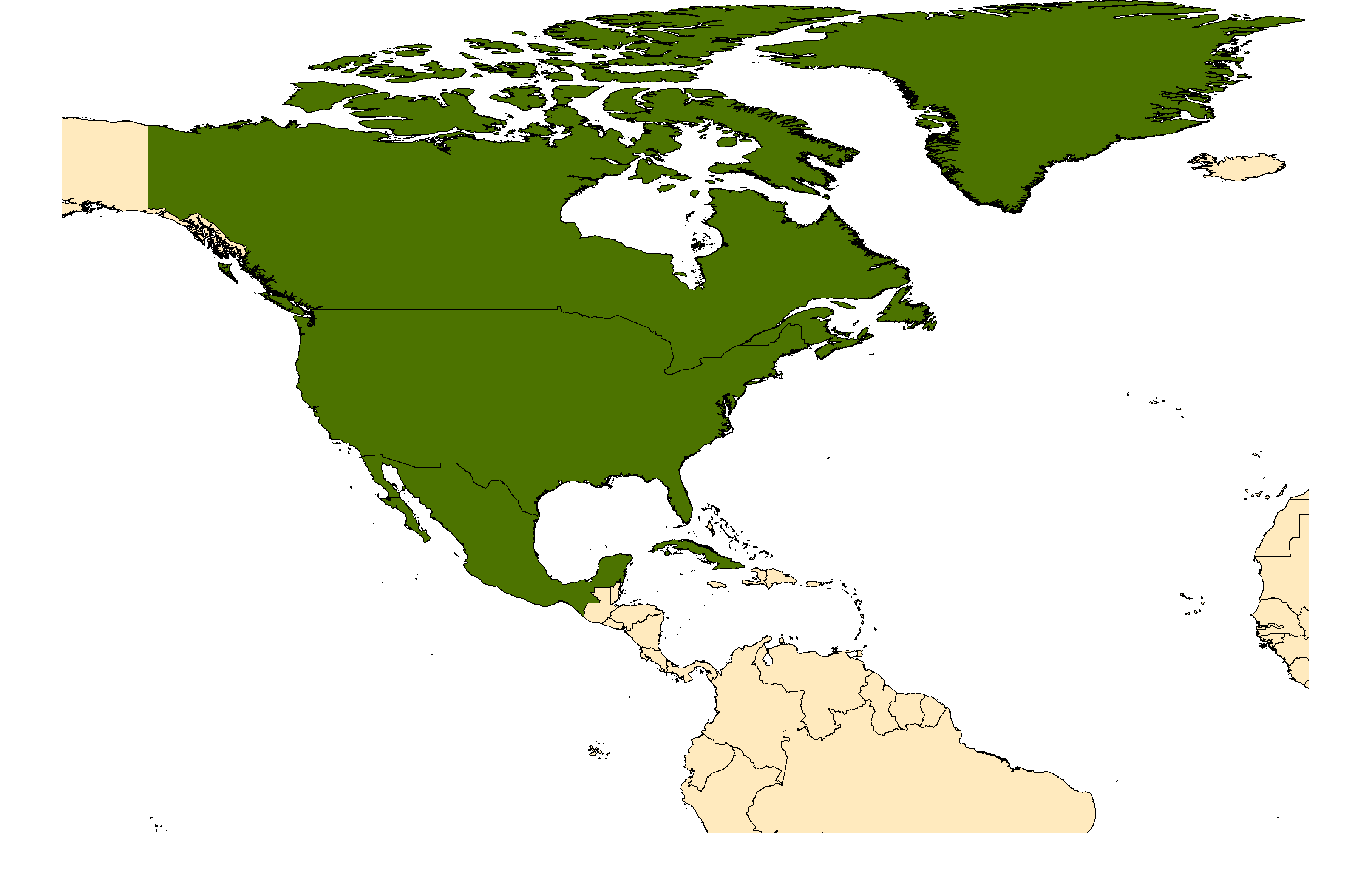 Distribution map for <em>Aedes triseriatus</em> (Say, 1823)