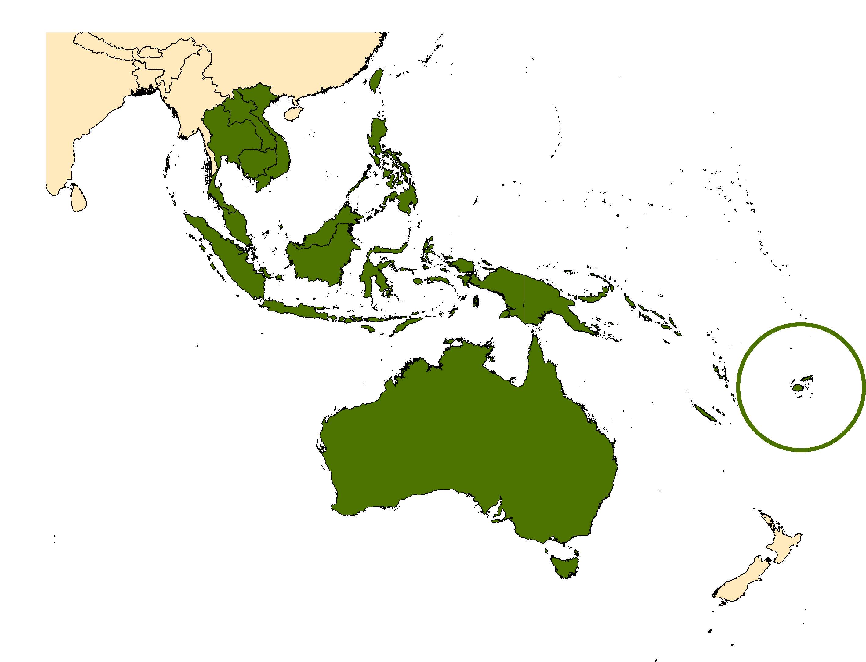 Distribution map for <em>Aedes vigilax</em> (Skuse, 1889)